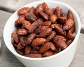 8oz. Pumpkin Spice Roasted Almonds in Gold Tin - CloudyCityNuts