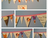 The Tiger Who Came For Tea Book Bunting for Nursery or Party