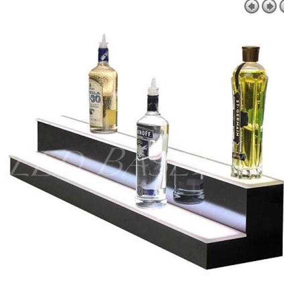 24 f hrte alkohol flasche regal beleuchtet f r von ledbaselineinc. Black Bedroom Furniture Sets. Home Design Ideas