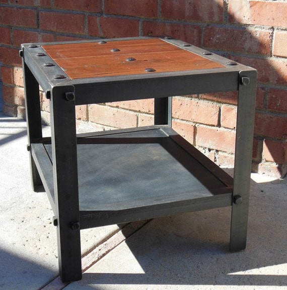 items similar to vintage industrial table modern