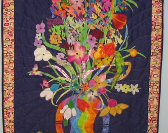 Tropical Delight Vase Wall Hanging