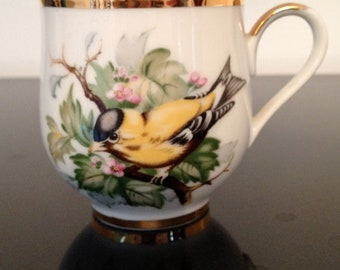 Norcrest Fine China Hand-crafted in Japan C-997 Teacup