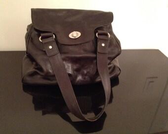 Bobo Bags CA Black Leather Bag