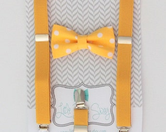 baby boy bow tie..1st birthday boy..ring bearer outfit..boys suspenders and bow tie..toddler suspenders..baby suspenders and bow tie