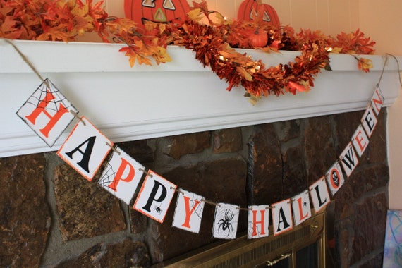 HAPPY HALLOWEEN- Halloween Banner