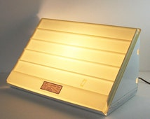 Vintage Magna View Slide Light Box - Photography Studio Equipment - Industrial Decor Modern Home Lamp - Art Gallery Display Photo Portfolio