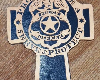 policeman cross