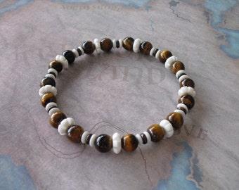 African roar tiger eye's bracelet
