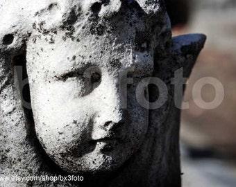 Stone cherubim - metallic photo paper Summer Sale