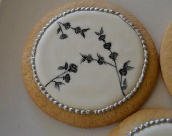 Hand Painted Cookies - Vanilla Cookies.