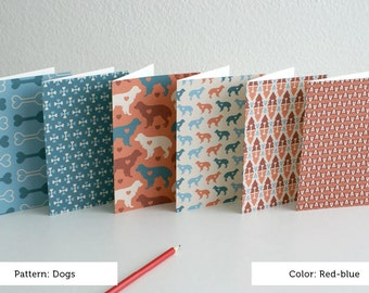 Dog card set-of-6