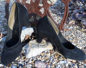 I'm Your Gal Revette Applique Pump Shoes, c.1940