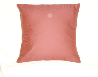 Dark Terra Cotta Pillow Cover
