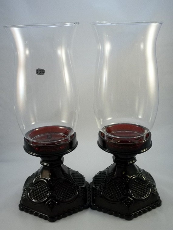 Vintage Avon Cape Cod Collectiion Hurrican Candle Holder