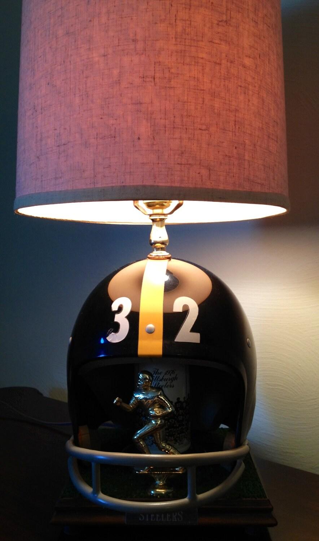 Handmade Pittsburgh Steelers Lamp Vintage Franco Harris 32