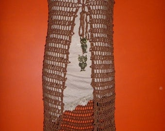brown gypsy vest