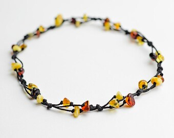Necklace amber / Genuine amber necklace