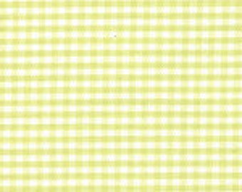 """1/16"""" CHARTREUSE Fabric Finders Gingham"""