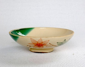 small bowl, handpainted