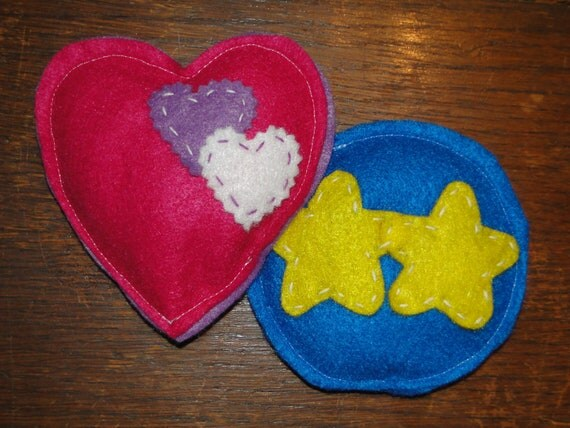 Rice Bag Handwarmer Childrens Felt Handwarmers