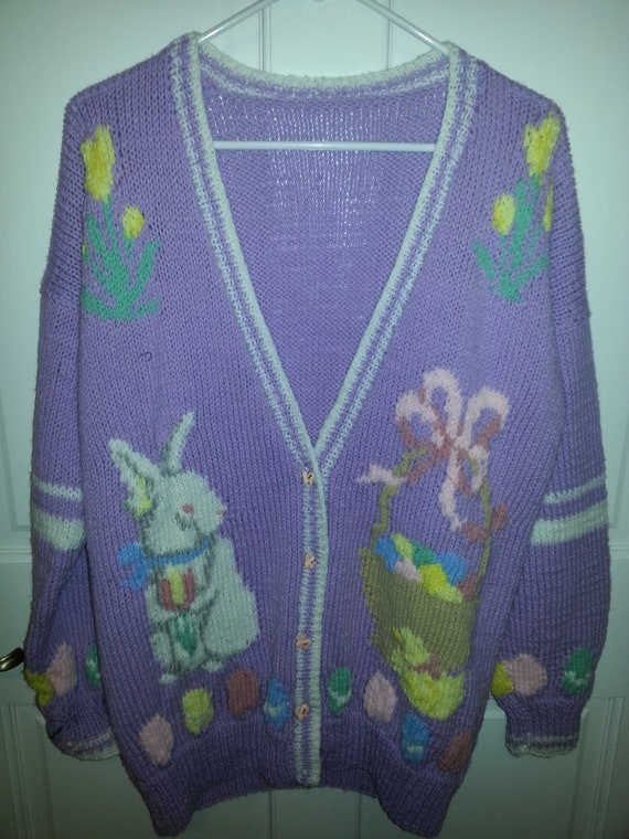 Large Ugly Easter Sweater
