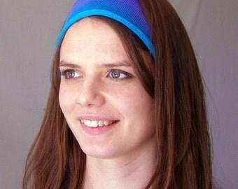 Ocean Blues Hand Dyed Merino Headwrap