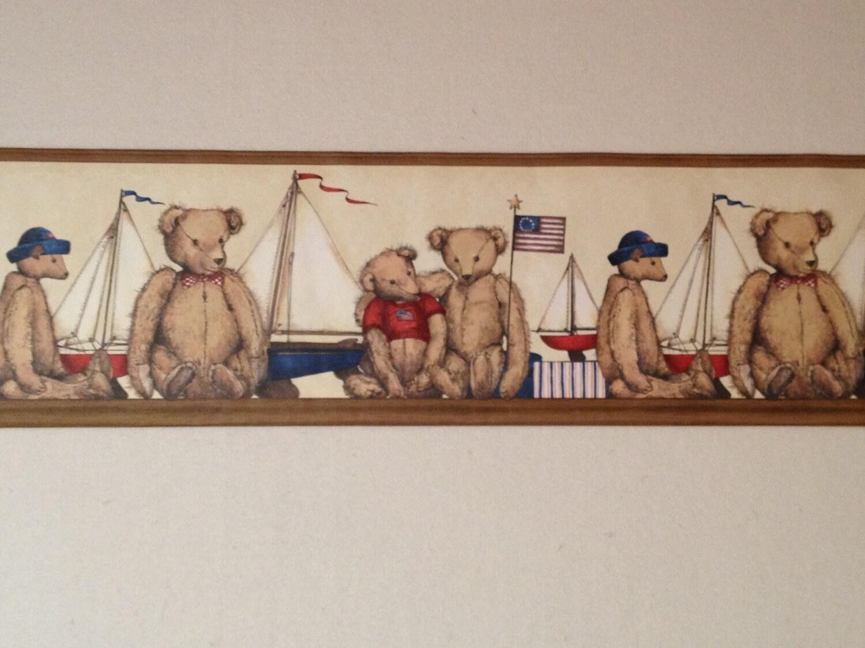 primitive wallpaper border for kitchen - photo #18