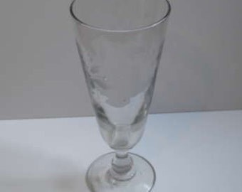Large Friendship Wine Glass - French Circa 1830