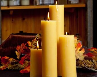 2 x 8  inch Pillar Candle