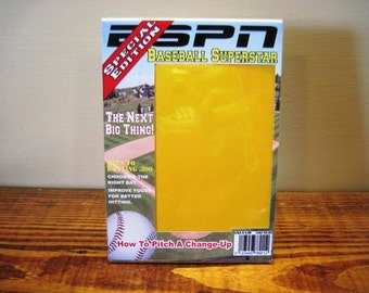 Baseball Magazine Picture Frame