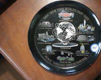 1964-65 New York World's Fair Souvenir Plate