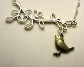 Sweet Tweet Birdie Necklace
