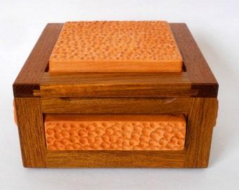 Artsy keepsake box.