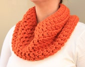 Cabbagetown Cowl in Pumpkin (Neck Warmer)