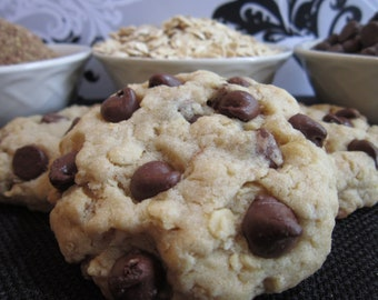 Lactation Cookie Mix Chocolate Chip Oatmeal to increase breast milk supply