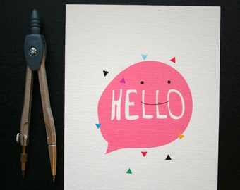 Just because cards. just because postcards. Hello card. Hello postcard
