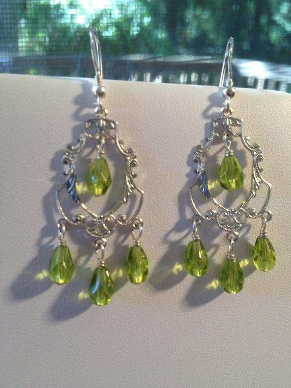 Forest Chandelier Earrings
