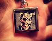 Batman/Joker Necklace - CheckedRetrospective