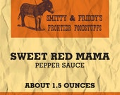 Sweet Red Mama Sauce, 1.5 oz. bottle