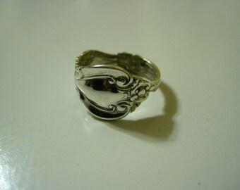 Sterling Demitasse Spoon Ring