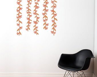 Spring Branches - Wall Decal - Color Print