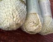 "Organic Cotton Yarn - Nature's Choice ""Dusty Sage"" -3 Balls"
