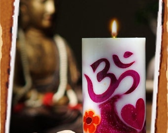 OM Candle White