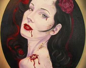 Dita Von Teese Zombie