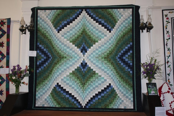 King Size Bargello Quilt