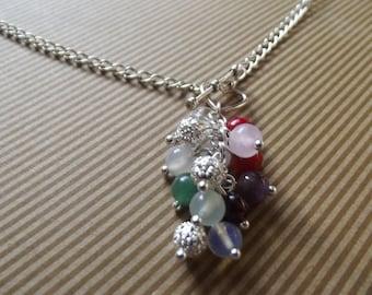Fertility healing gemstone necklace