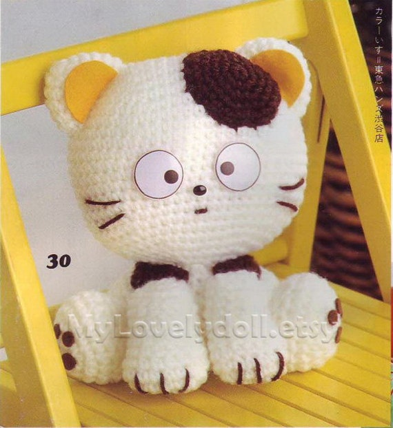 A03 Tama Cat Amigurumi Crochet Pattern PDF by MyLovelyDoll ...