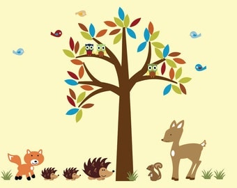 Forest Wall Decal Decal AAA100