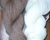 Alpaca/Wool bulky yarn -- grown and milled in VT