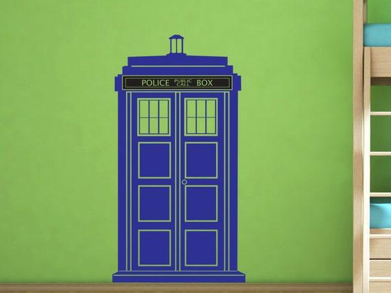 Good Items Similar To Dr Who Tardis Police Call Box Vinyl